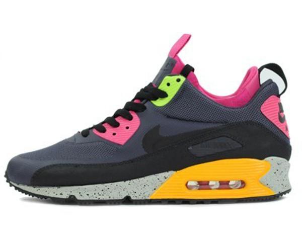 Nike Air Max 90 Sneakerboot 616314-008 Hommes Running - ShoemaniaQ