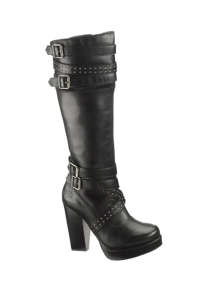 Bottes - Harley Davidson - Celia D83582 Noir - Femmes