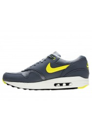 Nike Air Max 1 PRM 512033-070 Grise Basket Hommes Running