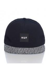 HUF - Casquette Quake Volley StrapBack Nylon/Noir Hommes Accessoire mode