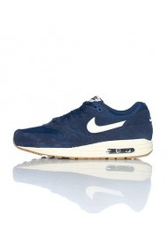 Nike Air Max 1 Essential (Ref: 537383-411) Bleu Basket Mode - Hommes Running