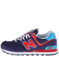Sneakers New Balance ML574 Passport Pack (Couleur : Color: Blue/Red ) Homme