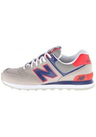 Sneakers New Balance ML574 Passport Pack (Couleur : Grey/Blue