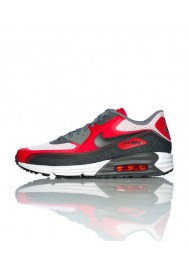 Running Nike Air Max 90 Lunar C 3.0 Rouge (Ref : 631744-101) Chaussure Hommes mode 2014