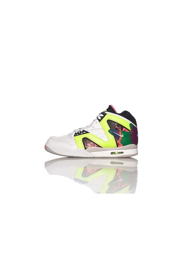 Tennis Nike Tech Challenge Hybrid Blanche (Ref : 653873-100) Chaussure Hommes mode 2014