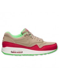 Nike Air Max 1 Essential Rouge (Ref : 537383-200) Basket Mode Hommes 2014