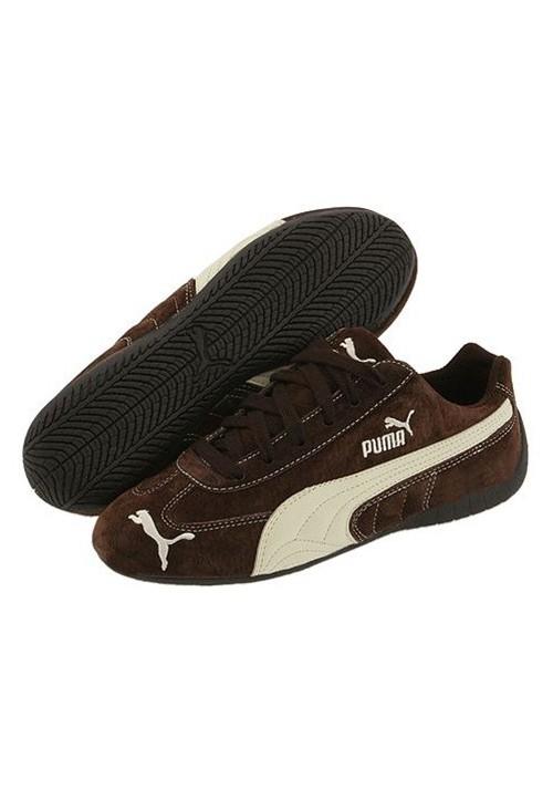 Chaussure Puma Marron Homme