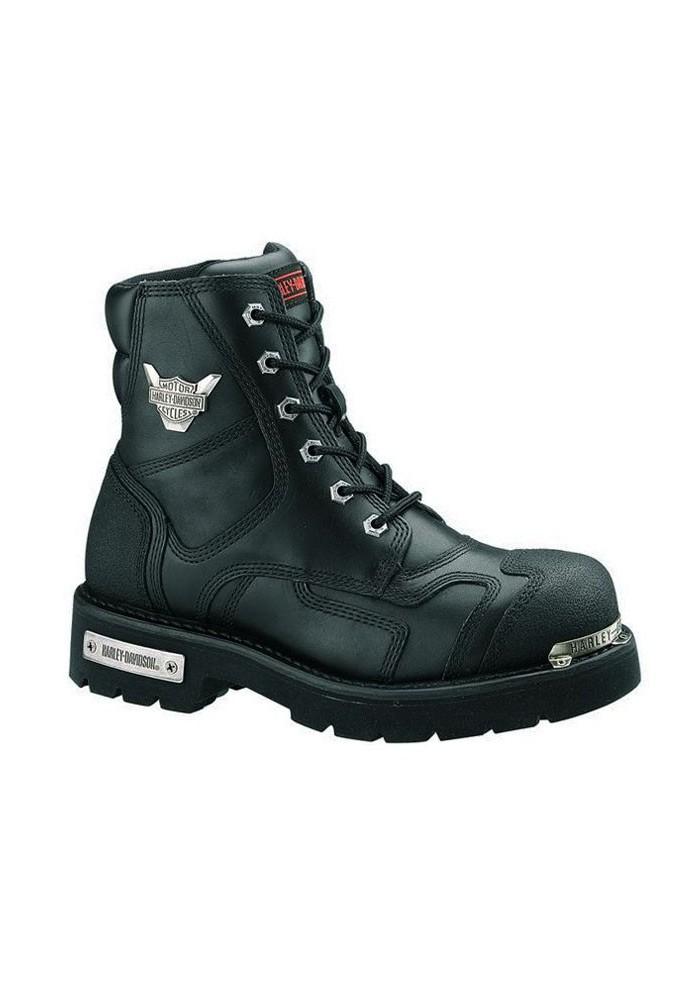 Boots Harley Davidson Stealth en Cuir Noir (Ref : D91642) Homme